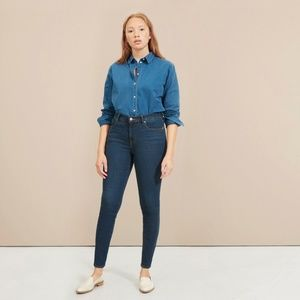 The Authentic Stretch Mid-Rise Skinny 26 Ankle